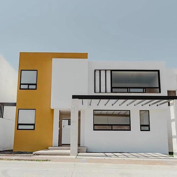20 colores y combinaciones para pintar las fachadas de una casa